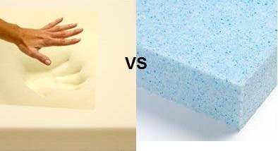 Memory Foam Vs Gel Foam Sticking With Memory Foam For Comfort