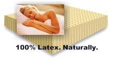 all natural latex mattress from Habitat Furnishings